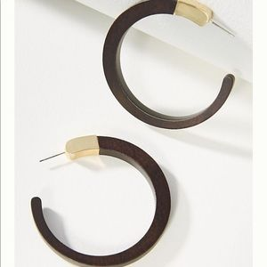 NWT ⭕️ ANTHRO Evan hoop earrings ⭕️